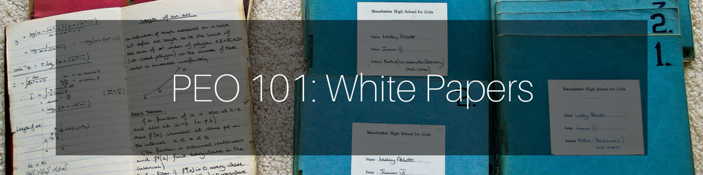 PEO White Papers